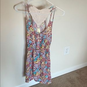 Floral print dress, size small